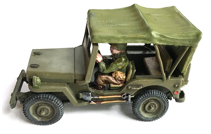 US Willy's Jeep with Open Canopy (Company B)