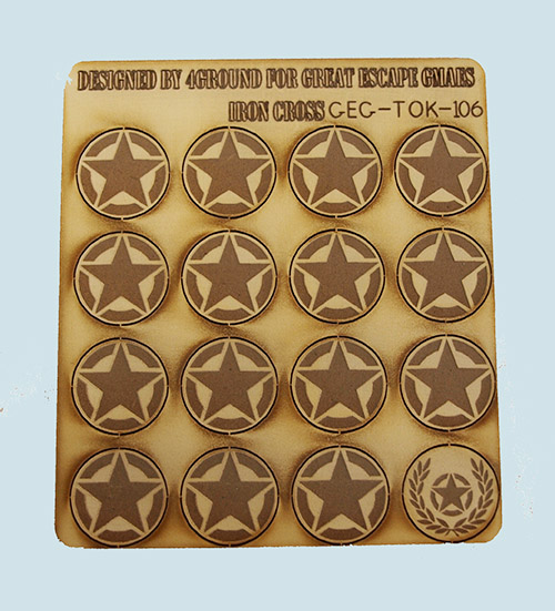 Iron Cross/Seven Days Command Tokens - US