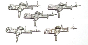 MG Vickers K guns (5) (Company B)