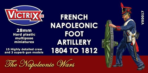 French Napoleonic Foot Artillery 1804-12 (Victrix)