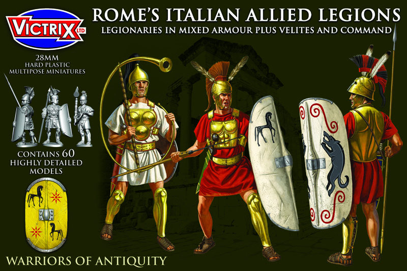 Rome's Italian Allied Legions (Victrix)