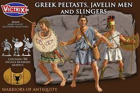 Greek Peltasts, Javelinmen & Slingers 5th to 3rd century BCE (Victrix)