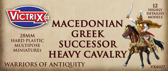 Macedonian, Greek & Successor Heavy Cavalry (Victrix)