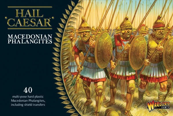 Macedonian Phalangites Plastic Box Set (Warlord)