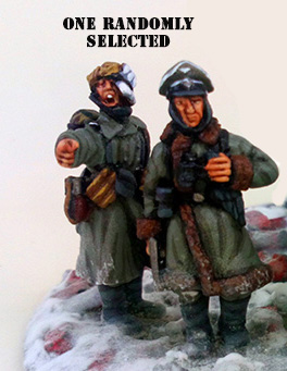 German Chain of Command Army - Winter Uniform (Great Escape Games)