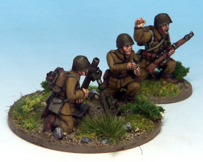 Polish 80mm Mortar (Crusader Miniatures)