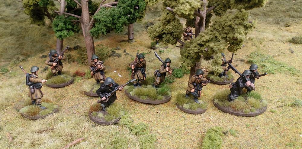 Danish infantry